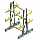 rayonnage cantilever manuel double face PROVOST