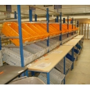 Stockage cartons incliné picking PROVOST