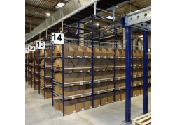 Stockage cartons inclinés pour le picking PROVOST