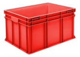 Bac gerbable 800 x 600 mm Rouge PROVOST