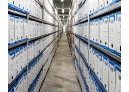Stockage d'archives sur rayonnage fixe PROVOST