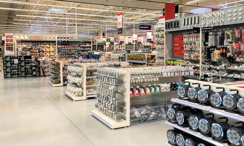 Réalisation rayonnage commerce et magasin