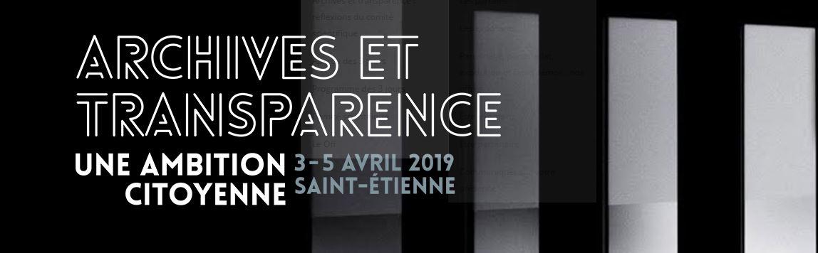 Forum Archivistes 2019