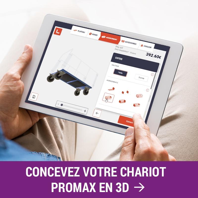Configurateur chariot industriel Promax