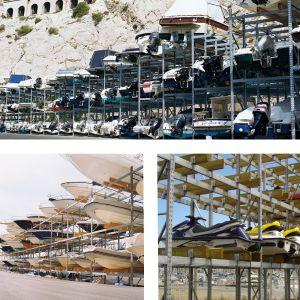 Aménagement stockage bateaux