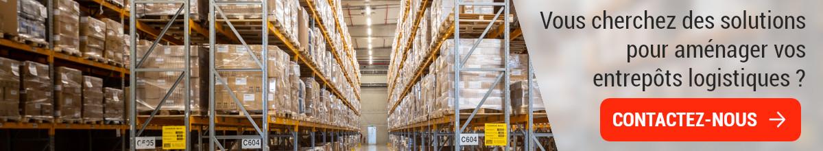 Aménagement d'entrepôt logistique