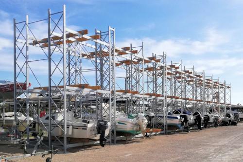 Stockage bateaux à moteur
