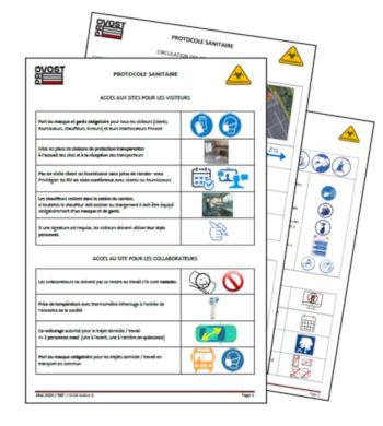 Protocole sanitaire covid 19 Provost
