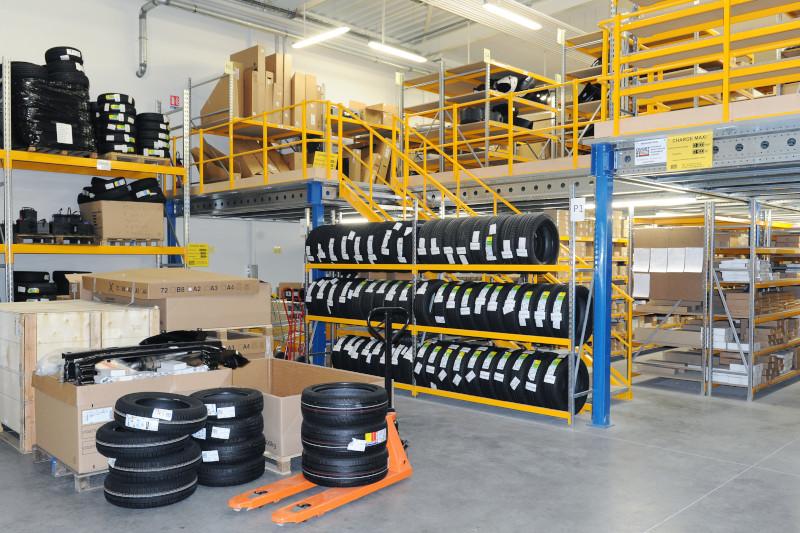 Aménagement d'atelier automobile