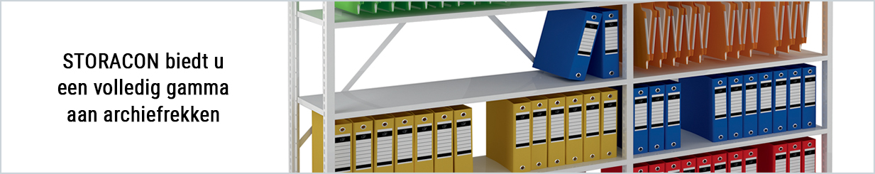 Favoriete Metalen archiefrekken & kantoorrekken - Storacon UC67