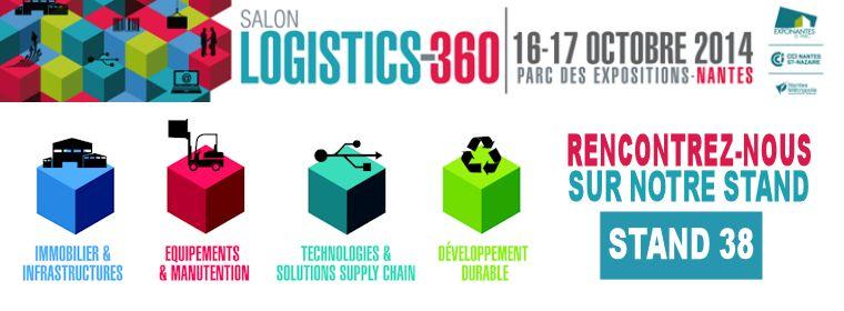 Provost présent sur le salon Logistics-360
