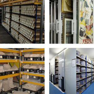 Stockage et rayonnages pour bibliothèques et médiathèques